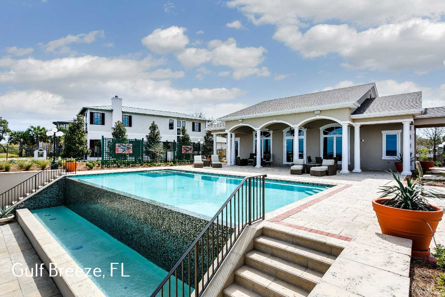 Luxury Inground Pool Design - one of many by the luxury pool builders Southern Poolscapes - High End Luxury Pool Specialists