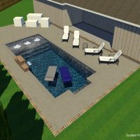 3D Pool Design - Southern Poolscapes